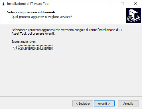 Icona del Desktop di IT Asset Tool