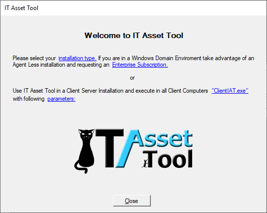 Welcome to IT Asset Tool