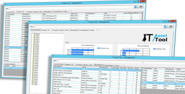 Screenshots of IT Asset Management Software